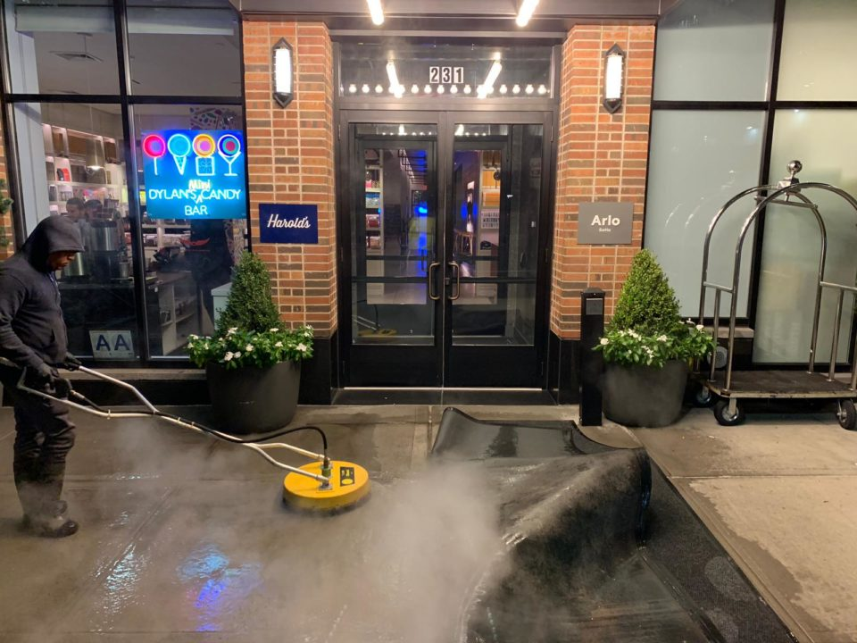 Pressure Washing Concrete Cleaning Queens NY